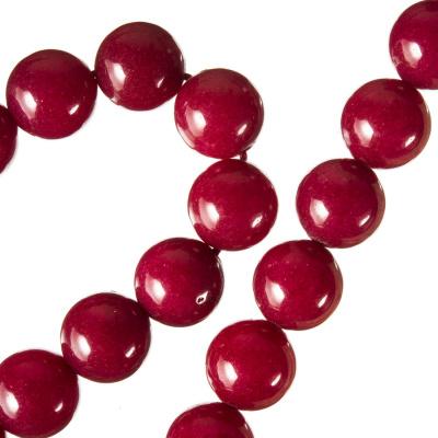 Radice Di Rubino - Filo di sfere lisce da 10 mm