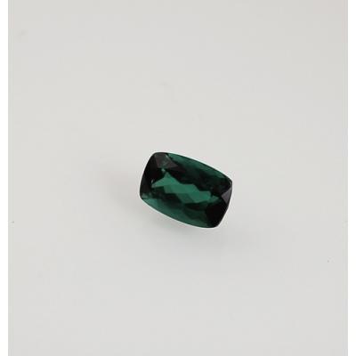 Gemma di Tormalina Verde - Taglio Briolette - Cuscino 0.77x1.15x0.57