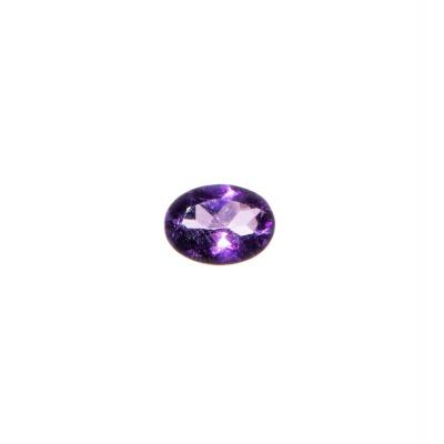 Gemma di Ametista Taglio Ovale - 1.12 carati - 0.6x0.8
