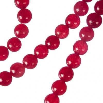 Giada Rossa - sfera liscia da 8mm