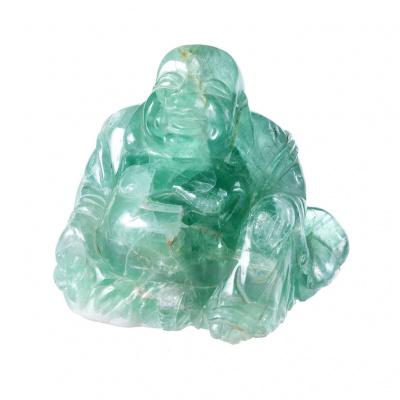 Budda in Fluorite Verde