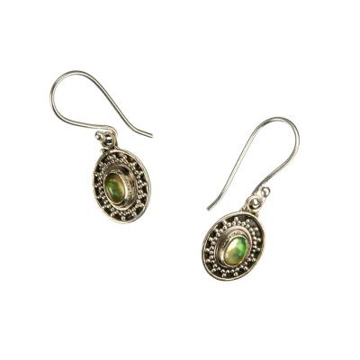 Orecchini Opale e Argento 925 pendenti