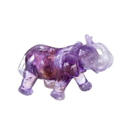 Elefante di Quarzo Ametrino