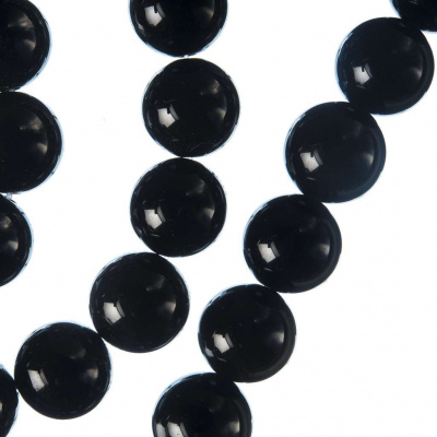 Onice Nera Grado A - sfera liscia da 12mm