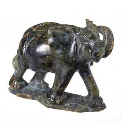 Elefante di Labradorite