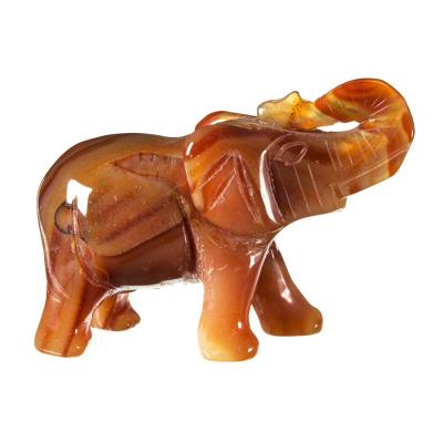 Elefante in Corniola Striata