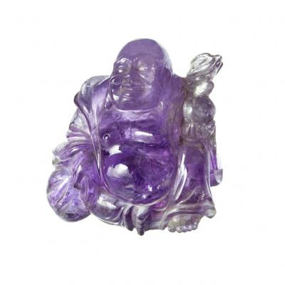 Buddha in Ametista