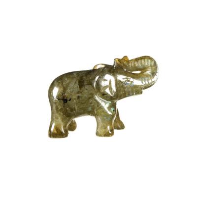 Elefante in Labradorite