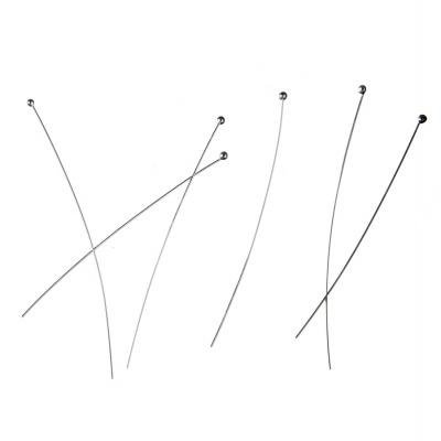 Chiodini senza occhiello da 5.3 cm (spessore 0.4 mm) in Argento 925 - 20 pz.