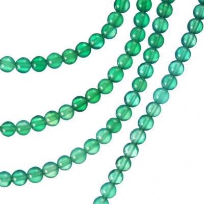 Agata Verde - sfera liscia da 4mm