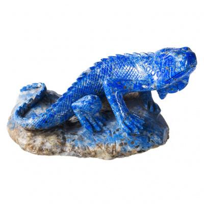 Iguana in Lapislazzuli