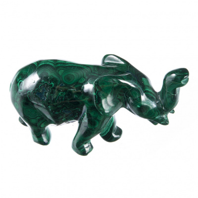 Elefante in Malachite