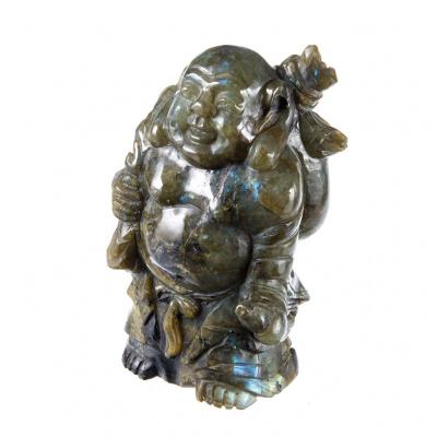 Budda in Labradorite
