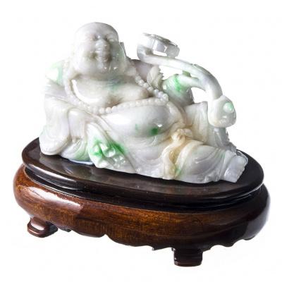 Buddha in Giada Imperiale