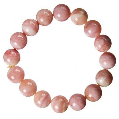 Bracciale Opale Andino qualità Extra, elastico, sfere 12mm
