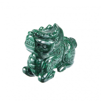 Cane di Fo in Malachite