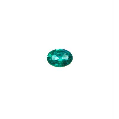 Gemma di Smeraldo - Taglio Ovale 0.5x0.68 - 0.73 ct.