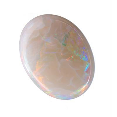 Cabochon in Opale Arlecchino - Ovale. 4.93 carati. 1.5x1.2