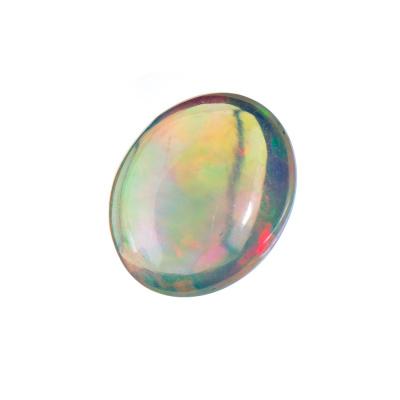 Cabochon in Opale - Ovale. 2.77 carati. 1.28x0.8