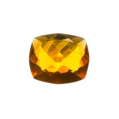 Gemma in Opale di Fuoco - Taglio Cushion. 7.86 carati - 1.5x1.7