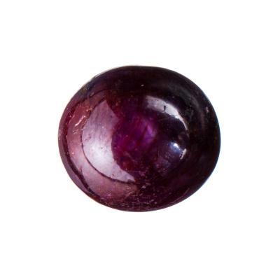 Cabochon di Rubino Stellato - 12.23 carati - 1.15x1.05