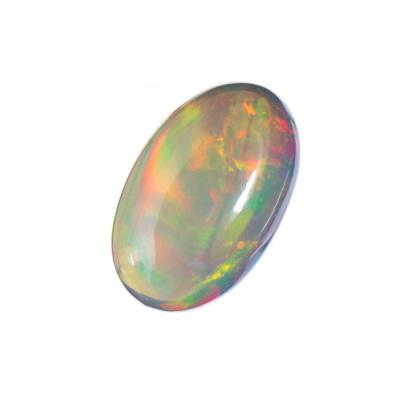 Cabochon in Opale - Ovale. 4.29 carati. 1.84x1.04