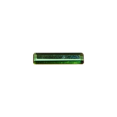 Gemma di Tormalina Verde - 1.20 carati - 1.5x0.38