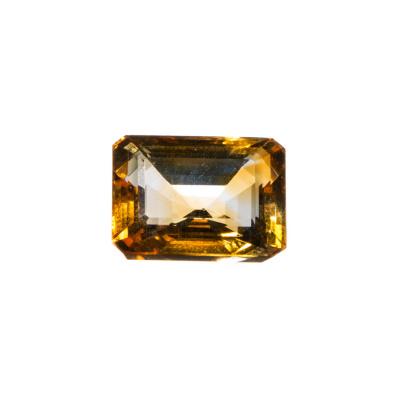 Gemma di Quarzo Citrino - 9.27 carati - Ottagonale 1.4x1.06