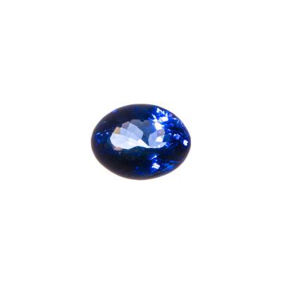 Gemma di Tanzanite - Taglio Ovale 0.9x1.15 - 4.01 ct.
