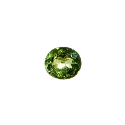 Gemma di Tormalina Verde - 2.64 carati - 0.94x0.82