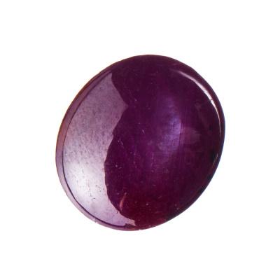 Cabochon di Rubino Stellato - 10.82 carati - 1.12x1.27