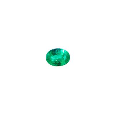 Gemma di Smeraldo - Taglio Ovale 0.8x0.63 - 1.11 ct.