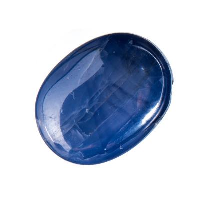 Cabochon di Zaffiro - Ovale 1.42x1.12 - 15.19 carati