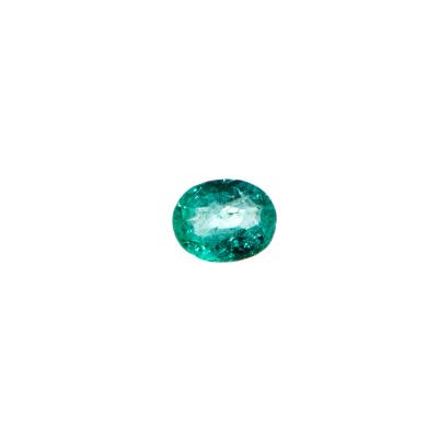 Gemma di Smeraldo - Taglio Ovale 0.7x0.5 - 0.86 ct.