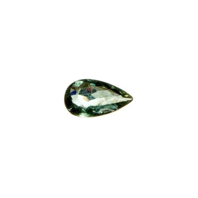 Gemma di Tormalina Verde - 1.70 carati - 1.2x0.7