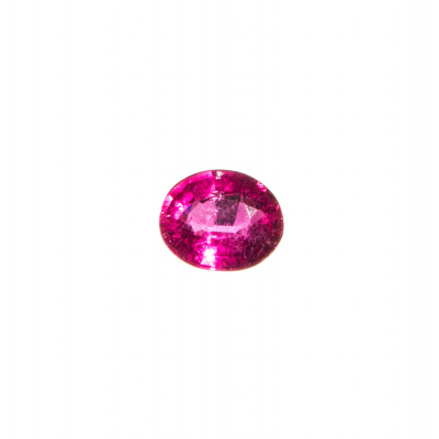 Gemma di Tormalina Rubellite - 2.4 carati - 0.75x0.9