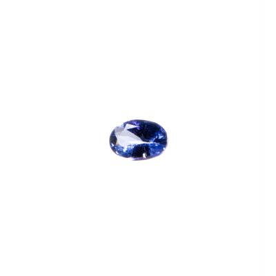 Gemma di Tanzanite - Taglio Ovale 0.45x0.65 - 0.65 ct.