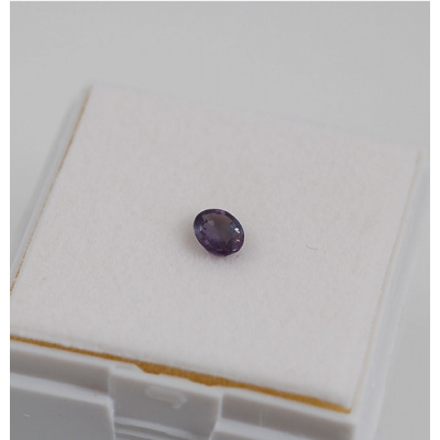 Gemma di Alessandrite - Taglio a Gradini - Ovale 0.43x0.68x0.22