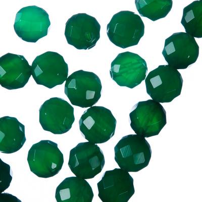 Agata Verde - Sfera sfaccettata da 10mm