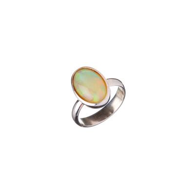 Anello di Opale Cristal e Argento 925
