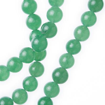 Avventurina Verde - Filo di sfere lisce da 8mm