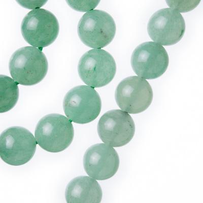 Avventurina Verde - Filo di sfere lisce da 10mm