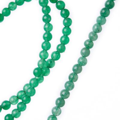 Avventurina Verde - Filo di sfere lisce da 4mm