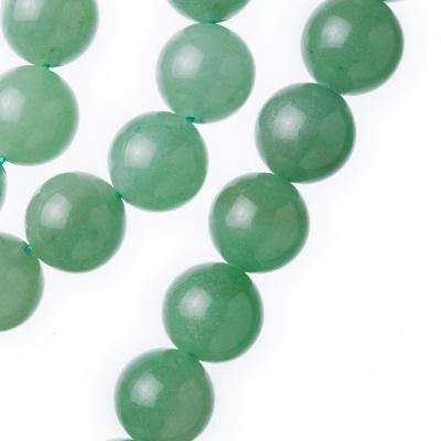 Avventurina Verde - Filo di sfere lisce da 12mm