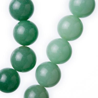 Avventurina Verde - Filo di sfere lisce da 14mm