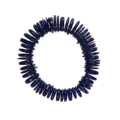Bracciale Elastico a rondelle di Lapislazzuli