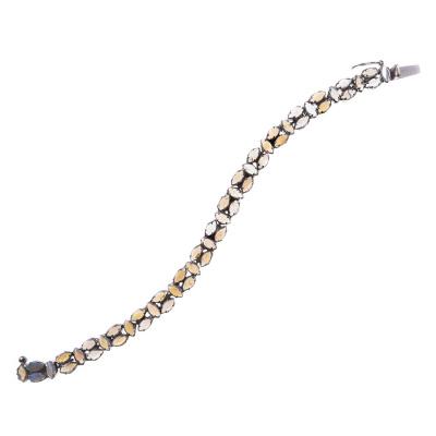 Bracciale in Argento e Opale Crystal