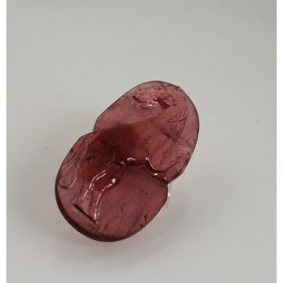 Gemma di Tormalina Rosa - Taglio Artistico 2.0x3.67x0.58