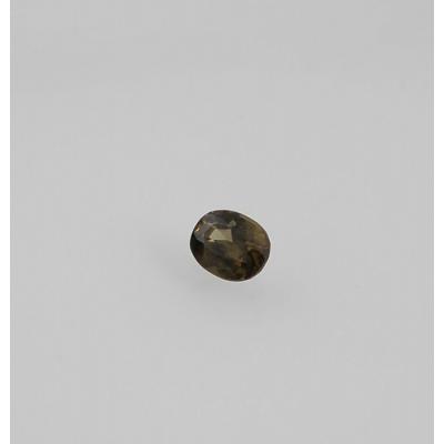 Gemma di Zircone - Taglio a Gradini - Ovale 0.67x0.87x0.42