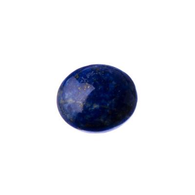 Cabochon in Lapislazzuli - Tondo 1.8x0.65 cm